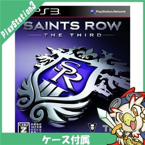 PS3 セインツロウ ザ・サード CERO区分_Z相当 特典なし ソフト プレステ3 プレイステーション3 PlayStation3 SONY 中古 送料無料|entameoukoku
