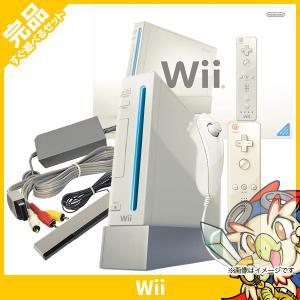 Wii ウィー 本体 シロ ニンテンドー 任天堂 NINTENDO ゲーム機 中古 送料無料 付属品完品|entameoukoku