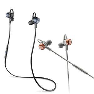 bluetooth イヤホン BackBeat GO 3 Plantronics ワイヤレスイヤホン 充電ケースなし ブラック/グレー 送料無料|enteron-kagu-shop