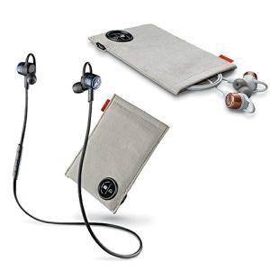 bluetooth イヤホン Plantronics ワイヤレスイヤホン BackBeat GO 3 充電ケース付 ブラック/グレー 送料無料|enteron-kagu-shop