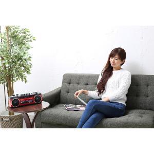 ラジカセ カセット Bluetooth カセットテープ シングルラジカセ SCR-B2 カセット ラジオ 再生 ステレオ MP3 USB SDカード デジタル アナログ SANSUI enteron-kagu-shop 02