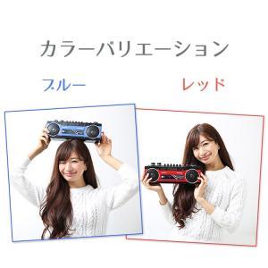 ラジカセ カセット Bluetooth カセットテープ シングルラジカセ SCR-B2 カセット ラジオ 再生 ステレオ MP3 USB SDカード デジタル アナログ SANSUI enteron-kagu-shop 04