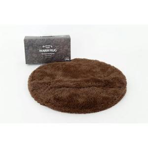ホットカーペット ウォームラグ 洗える ヒーター付き Warm rug 電気カーペット ホットマット 一人用 ブラウン/グレー 1畳 おしゃれ ミニ かわいい eline|enteron-kagu-shop|04