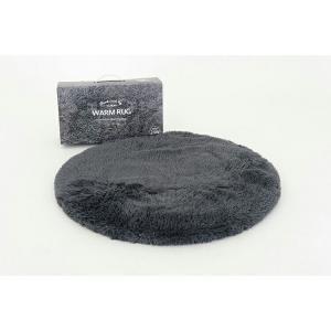 ホットカーペット ウォームラグ 洗える ヒーター付き Warm rug 電気カーペット ホットマット 一人用 ブラウン/グレー 1畳 おしゃれ ミニ かわいい eline|enteron-kagu-shop|05