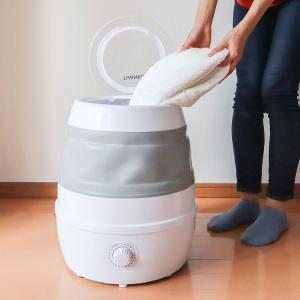 洗濯機 一人暮らし 折りたたみ洗濯機 SFPSWMLG 3kg 収納 一人暮し ひとり暮らし ひとり...
