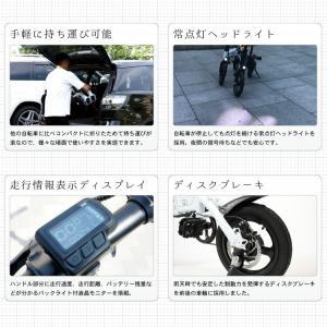 電動自転車 折りたたみ Hold On Q1 電動アシスト自転車 おしゃれ 安い パールホワイト/ナイトブルー/メタリックカーキ メーカー直送のため代引不可|enteron-kagu-shop|12