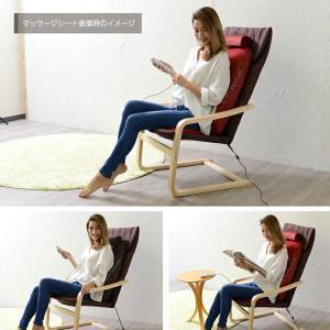 リラックスチェアー スリム プレミアムブラック ドクターエア 3D対応 椅子 イス いす 北欧 マッサージシート ※メーカー直送代引き不可|enteron-kagu-shop|04
