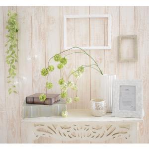 いなざうるす屋 フェイクグリーン ゆらゆらポンポン グリーン/ホワイトグリーン 壁飾り 壁掛けインテリア 観葉植物 ウォールデコレーション|enteron-kagu-shop|02