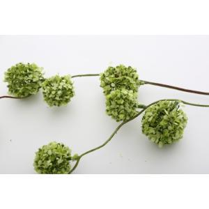 いなざうるす屋 フェイクグリーン ゆらゆらポンポン グリーン/ホワイトグリーン 壁飾り 壁掛けインテリア 観葉植物 ウォールデコレーション|enteron-kagu-shop|06