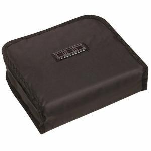 弁当用保冷バック1段 織ネーム付 ブラック/KB51|enteron-kagu-shop