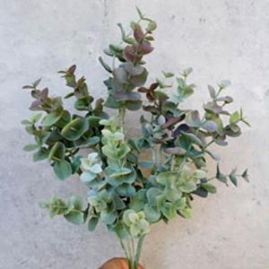 いなざうるす屋 フェイクグリーン アンティークユーカリ 壁飾り 壁掛けインテリア 観葉植物 ウォールデコレーション 緑 壁掛け インテリア|enteron-kagu-shop
