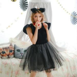 コスプレ 新年会 猫 キャット 黒猫 プティシャノワール Ladies キャットガール 猫娘 可愛い 猫耳 ネコ耳 かわいい 女性 コスチューム レディース|enteron-kagu-shop