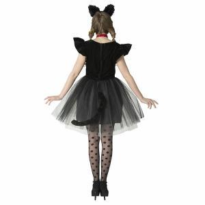 コスプレ 忘年会 猫 キャット 黒猫 プティシャノワール Ladies キャットガール 猫娘 可愛い 猫耳 ネコ耳 かわいい 女性 コスチューム レディース|enteron-kagu-shop|11