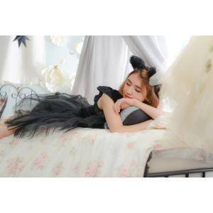 コスプレ 忘年会 猫 キャット 黒猫 プティシャノワール Ladies キャットガール 猫娘 可愛い 猫耳 ネコ耳 かわいい 女性 コスチューム レディース|enteron-kagu-shop|04