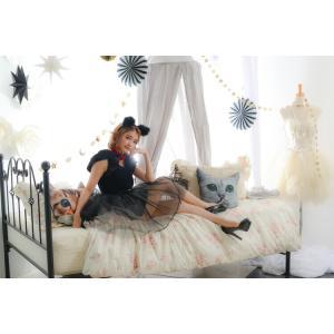 コスプレ 忘年会 猫 キャット 黒猫 プティシャノワール Ladies キャットガール 猫娘 可愛い 猫耳 ネコ耳 かわいい 女性 コスチューム レディース|enteron-kagu-shop|05