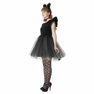 コスプレ 新年会 猫 キャット 黒猫 プティシャノワール Ladies キャットガール 猫娘 可愛い 猫耳 ネコ耳 かわいい 女性 コスチューム レディース|enteron-kagu-shop|10
