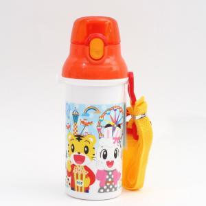 食器洗い乾燥機OKのプラスチック直飲み水筒です。 プッシュ式オープンで簡単オープン! 肩にかけて持ち...
