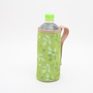 ペットボトルホルダー おしゃれ ペットボトルホルダー リーフ/JPH1 ペットボトルカバー ペットボトルケース かわいい 500mlペットボトル 500ml用|enteron-kagu-shop