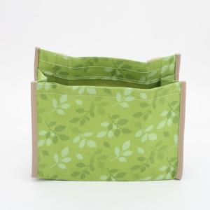 ベッド 収納ポケット ミニインテリアボックス リーフ/JDB1 ベッドサイドポケット ベッドポケット マガジンラック 収納ラック 小物収納 小物入れ ポケット|enteron-kagu-shop