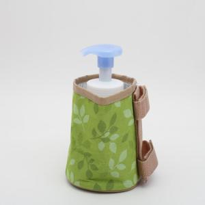 ベッド 収納ポケット 身のまわりカップ リーフ/JPC1 ベッドサイドポケット ベッドポケット ペットボトルホルダー ペットボトル入れ アルミ蒸着 収納ケース|enteron-kagu-shop