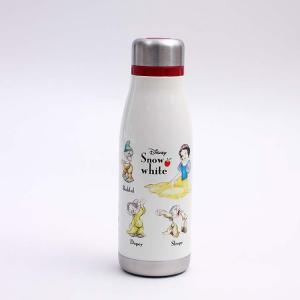 水筒 白雪姫 超軽量・コンパクトスタイリッシュステンレスボトル 白雪姫 STY4 キャラクター ディズニー 白雪姫 ステンレス マグ 子ども 子供 遠足 行楽 omkの商品画像|ナビ