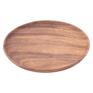 アカシア食器 トレー アカシアトレー ラウンド 21943 木製トレー 木製トレイ アカシアトレー アカシアトレイ プレート お皿 深め 円形 木製食器 北欧風 enteron-kagu-shop