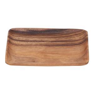 アカシア食器 プレート アカシアレクタングルプレート 40461 木製プレート アカシアプレート トレー トレイ お皿 平皿 四角 角型 長方形 木製食器 北欧風 enteron-kagu-shop