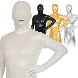 コスプレ 宴会 全身タイツ 透明人間 コーティング ハロウィン パーティー クリスマス 正月 年末 コスチューム 衣装 仮装 店舗 宴会 イベント 販促|enteron-kagu-shop