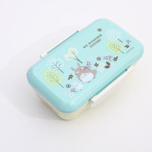 弁当箱 トトロ スタイリッシュランチボックス トトロ フィールド/PFTY5 キャラクター ジブリ トトロ 弁当箱 子ども 子供 ランチ 昼食 1段 プレゼント|enteron-kagu-shop
