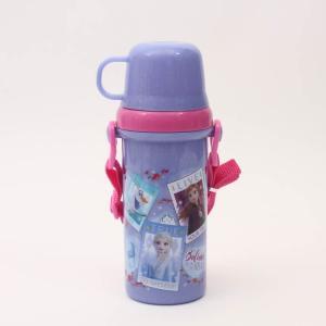 水筒 アナ雪 直飲みコップ付きプラ水筒 アナと雪の女王2/PSB5KD 子供用水筒 直飲み プラスチ...