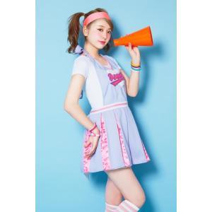 完売 ハロウィン コスプレ チアリーダー LLL American Cheerleader チアガール AMOプロデュース コスチューム コスプレ ハロウィーン 女性用|enteron-kagu-shop|04