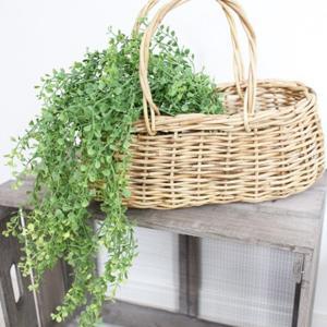 フェイクグリーン 丸い葉っぱのモフモフ 観葉植物 フェイク グリーン インテリア 雑貨 いなざうるす屋|enteron-kagu-shop
