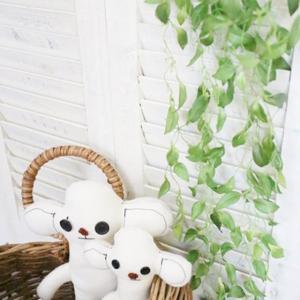 フェイクグリーン 垂れる葉っぱ L 観葉植物 フェイク グリーン インテリア 雑貨 いなざうるす屋|enteron-kagu-shop