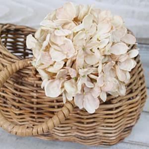 フェイクグリーン アンティーク紫陽花 ソフトベージュ いなざうるす屋 観葉植物 フェイク グリーン インテリア 雑貨 フェイクフラワー 花 模様替え|enteron-kagu-shop