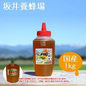 はちみつ アルゼンチン産 百花蜂蜜1kgH1000/坂井養蜂場 アルゼンチン産|enteron-kagu-shop