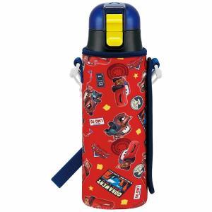 水筒 カーズ 直飲みステンレスボトル 470ml ボトルカバー付き カーズ17/KSDC4 ディズニー ピクサー 熱中症対策 omk|enteron-shop2