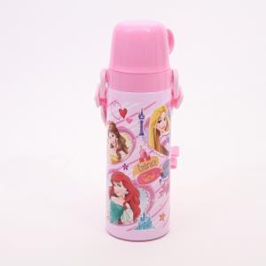 水筒 プリンセス 超軽量・コンパクト2WAY中栓ステンレスボトル 600ml プリンセス19/STG...