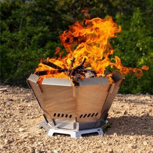 バッドボーンファイヤー マウントスミ 二次燃焼 焚火台 Mt.SUMI バッドボーンファイヤー BS2106BBF 2次燃焼ストーブ 八角形 焚き火台 焚き火 お洒落|enteron-shop2