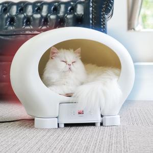 アニマルカプセルホテル サンコー 冷温ヒーター 冷房 暖房 犬 猫 ペットハウス ペット用品 ペット用ペルチェハウス 小型犬 猫 キャット クーラー エアコン|enteron-shop2