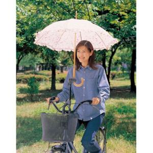 自転車用 傘ホルダー サイクル傘スタンド 木かげ 010622 enteron-shop