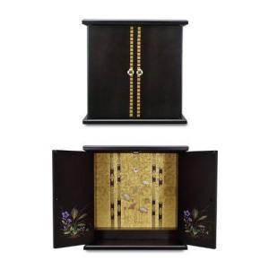 仏壇 漆器ミニ仏壇 小 春日 134536|enteron-shop