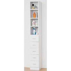 洗面所 収納 鏡面すきま収納タオルストッカー W25 27047|enteron-shop