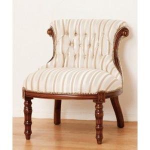 アンティーク調家具 マルシェ ロールチェアー 完成品 28562|enteron-shop