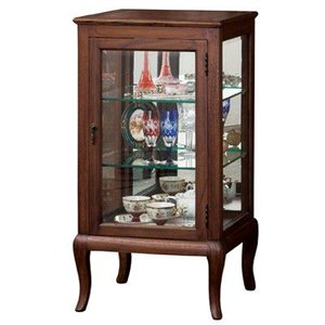アンティーク調家具 ウェール コレクションケース 完成品 28582|enteron-shop