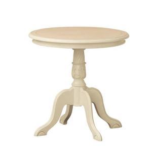 アンティーク調家具 コモ テーブル ホワイト 完成品 92168|enteron-shop