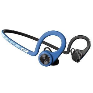 日本プラントロニクス BT ワイヤレスヘッドセット BackBeat Fit ブルー|enteron-shop