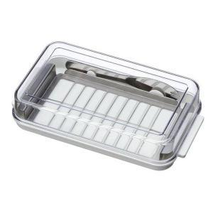 ステンレスバターカッター&ケース バターナイフ付 BTG2DX|enteron-shop