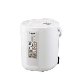 象印 スチーム式加湿器  ホワイト (木造6畳 プレハブ10畳) ZOJIRUSHI EE-RN35-WA|enteron-shop