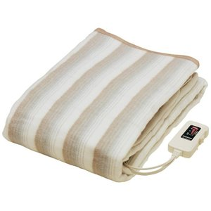 掛け敷き両用電気毛布 椙山紡績 掛け敷き毛布 NA-013K sugiyama|enteron-shop