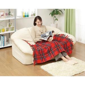 日本製 椙山紡績 電気ひざ掛け毛布 140×82cm NA-055H-RT レッド [NA-052Hの新モデル]  ホットブランケット|enteron-shop|02